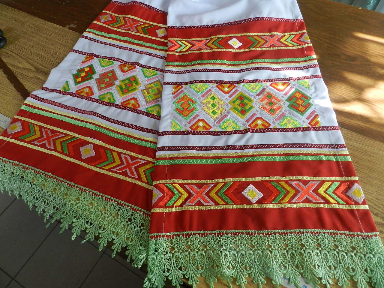 Башкирский орнамент вышивка 88