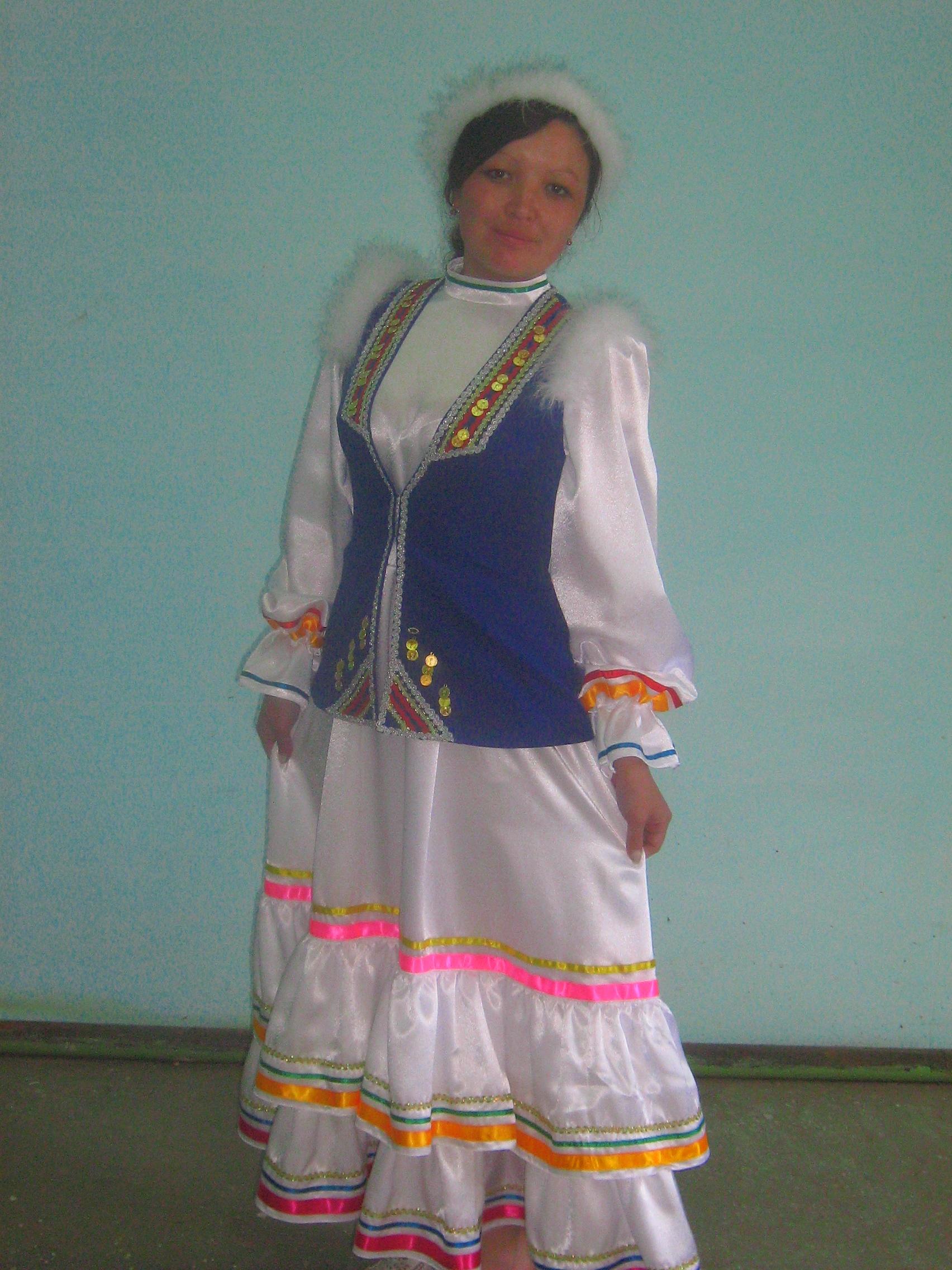 Башкирские костюмы своими руками 523